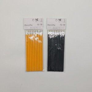 Standard-Bleistifte, 10er-Pack, HB, Holz