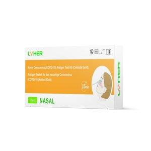 LYHER® Covid-19 Antigen Schnelltest (Nasal), Einzelverpackung