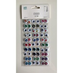 Sticker Augenmix, verschiedene Designs und Farben