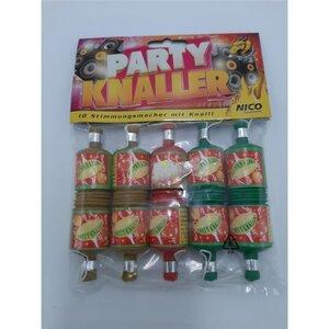 Nico, Party Knaller, 10 Stück, Bunt