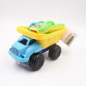 Sandspielzeug, 7-teilig, mit Auto und Zubehör