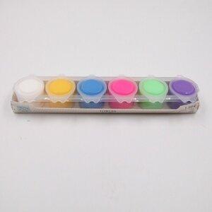 Temperafarben Malfarben Schulmalfarbe Künstlerfarben 6 x 15 ml bunt