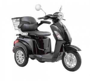 LuXXon E-Dreirad E3800 20 km/h (Mofa-Klasse), keine Helmpflicht, schwarz