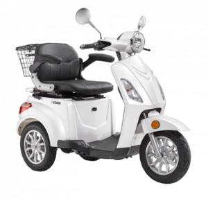 LuXXon E-Dreirad E3800 20 km/h (Mofa-Klasse), keine Helmpflicht, weiß