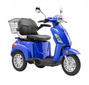 LuXXon E-Dreirad E3800 20 km/h (Mofa-Klasse), keine Helmpflicht, blau