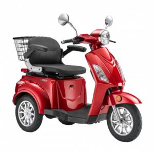 LuXXon E-Dreirad E3800 20 km/h (Mofa-Klasse), keine Helmpflicht, weinrot