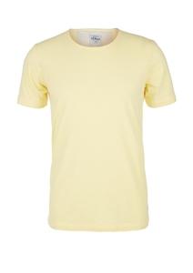 Herren Shirt mit Slub Yarn-Struktur