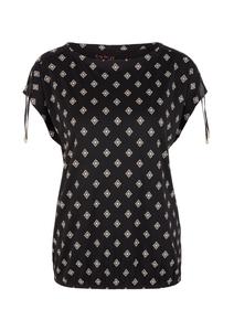 Damen Jerseyshirt mit Allover-Print