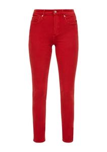 Damen Skinny Fit: Skinny leg-Jeans mit Wascheffekt