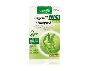 Alsiroyal Algenöl Omega-3 1100 30 Kapseln