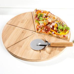 Casa Royale Pizzateller, inkl. Pizzaschneider - Ø ca. 32 cm