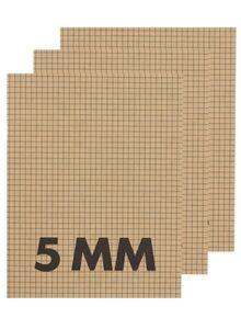HEMA 3er-Pack Karierte Hefte (5 Mm), DIN A5