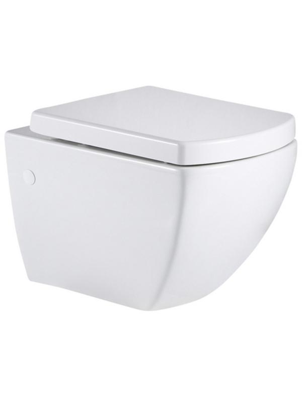 Wand-WC-Set »Wellwater«, BxH: 36 x 35 cm, Keramik