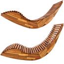 Bild 4 von Deuba Ergonomische Schwungliege Saunaliege aus Akazienholz inkl. Auflage - FSC® zertifiziert