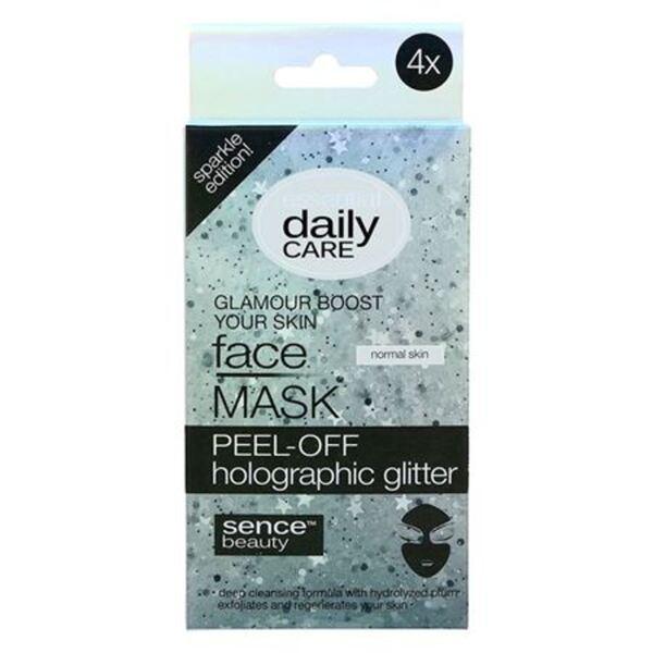 Sencebeauty Peeling-Gesichtsmaske 4x 8g
