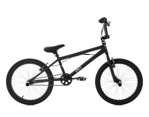 KS Cycling BMX Freestyle 20'' Fatt schwarz