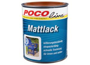 Mattlack 2 in 1 lehmbraun (RAL 8003) 750 ml