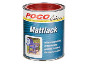 Mattlack 2 in 1 feuerrot (RAL 3000) 750 ml