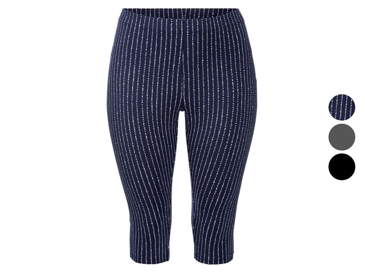 Bild 1 von ESMARA® Leggings Damen, in Capri-Länge, mit Baumwolle