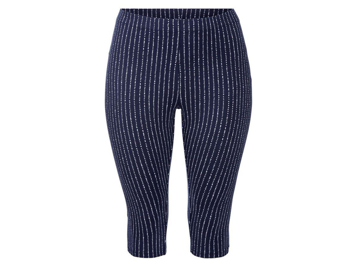 Bild 2 von ESMARA® Leggings Damen, in Capri-Länge, mit Baumwolle