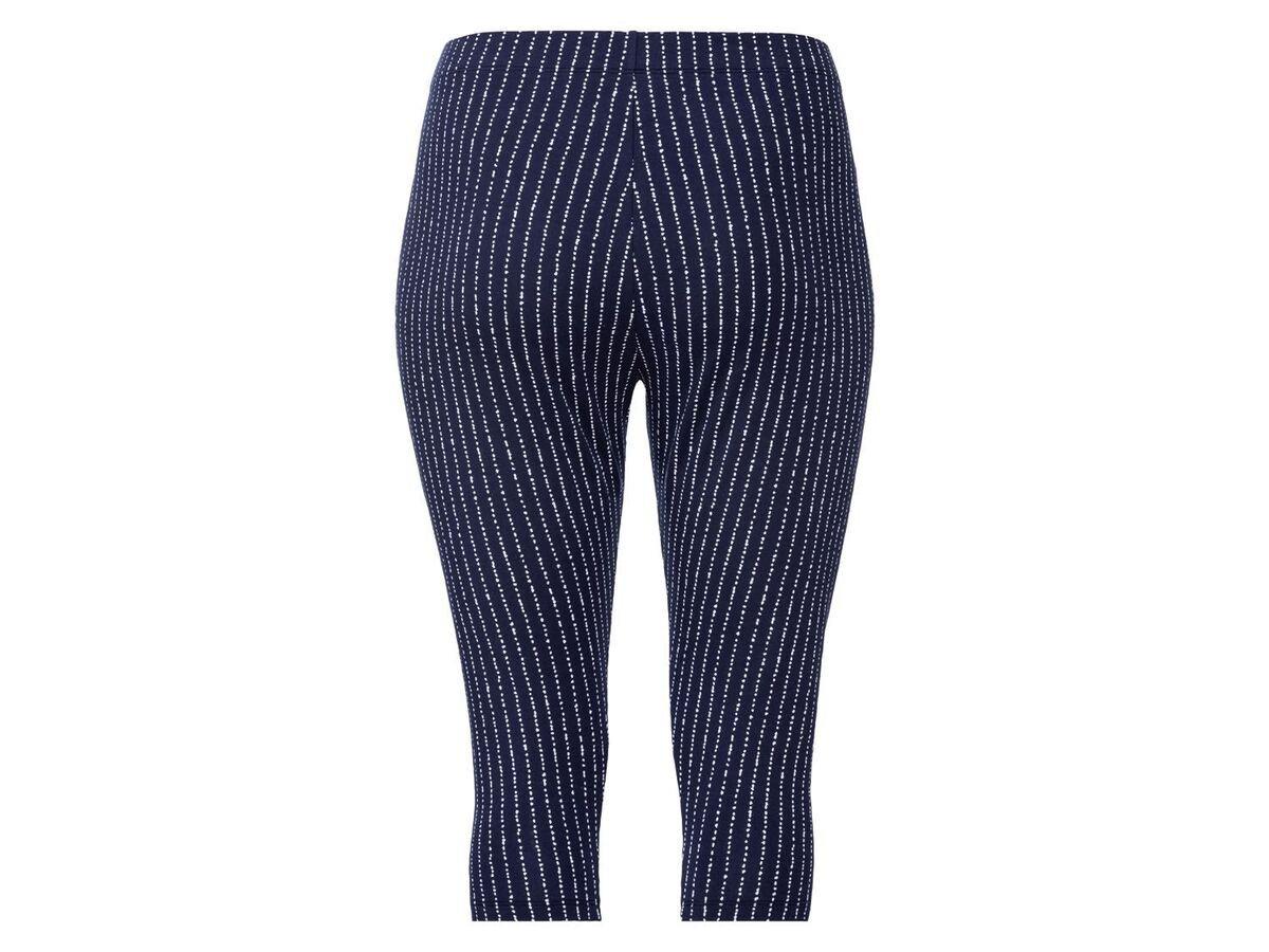 Bild 3 von ESMARA® Leggings Damen, in Capri-Länge, mit Baumwolle