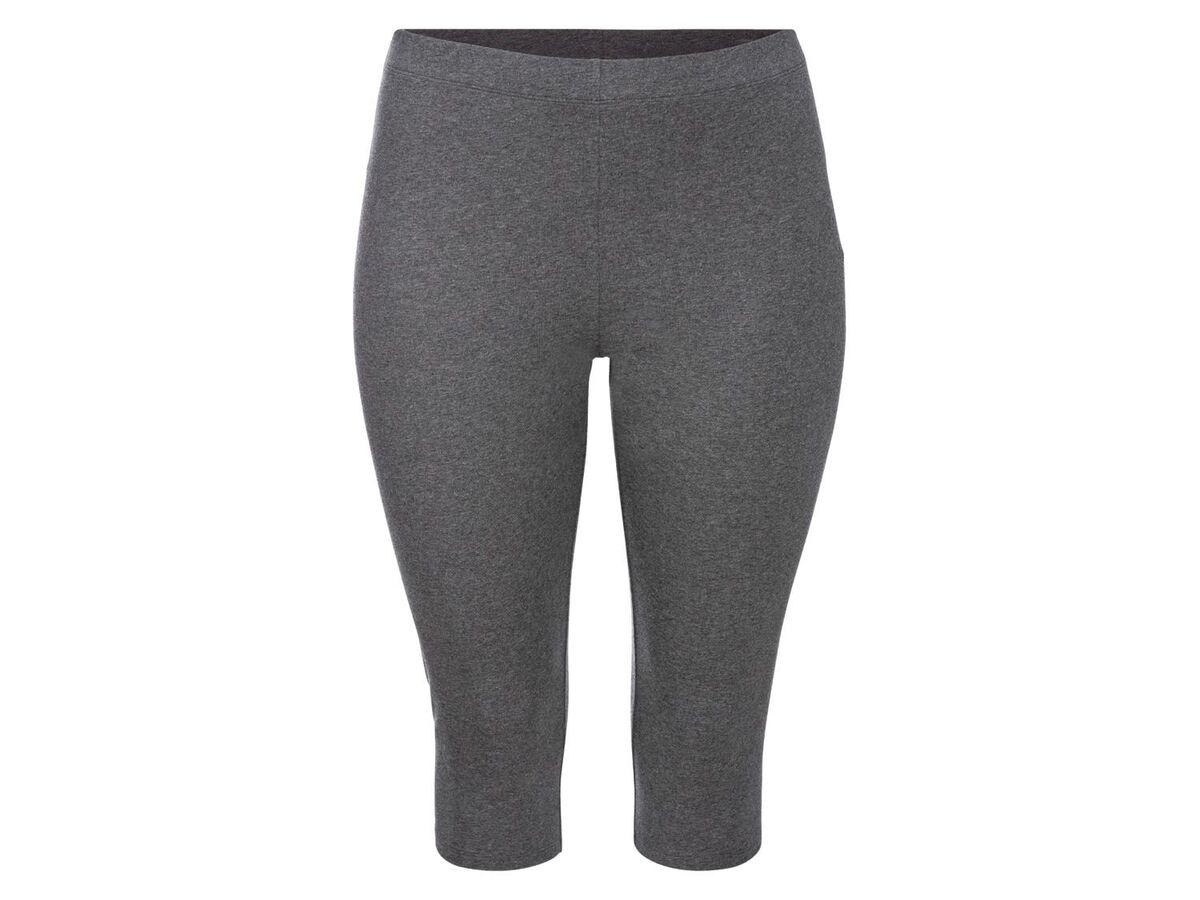 Bild 4 von ESMARA® Leggings Damen, in Capri-Länge, mit Baumwolle