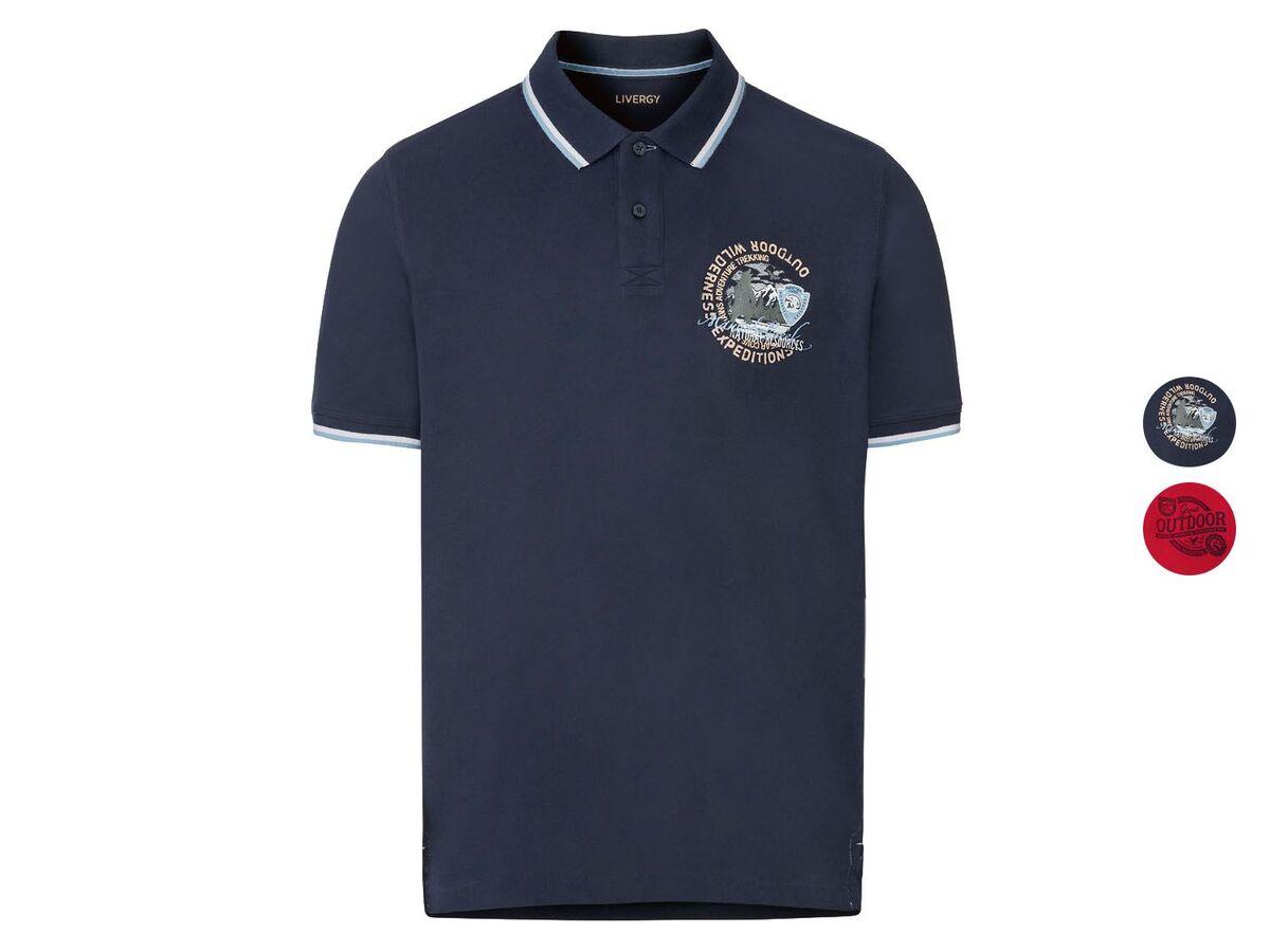 Bild 1 von LIVERGY® Piquee Poloshirt Herren, kurzarm, mit Baumwolle