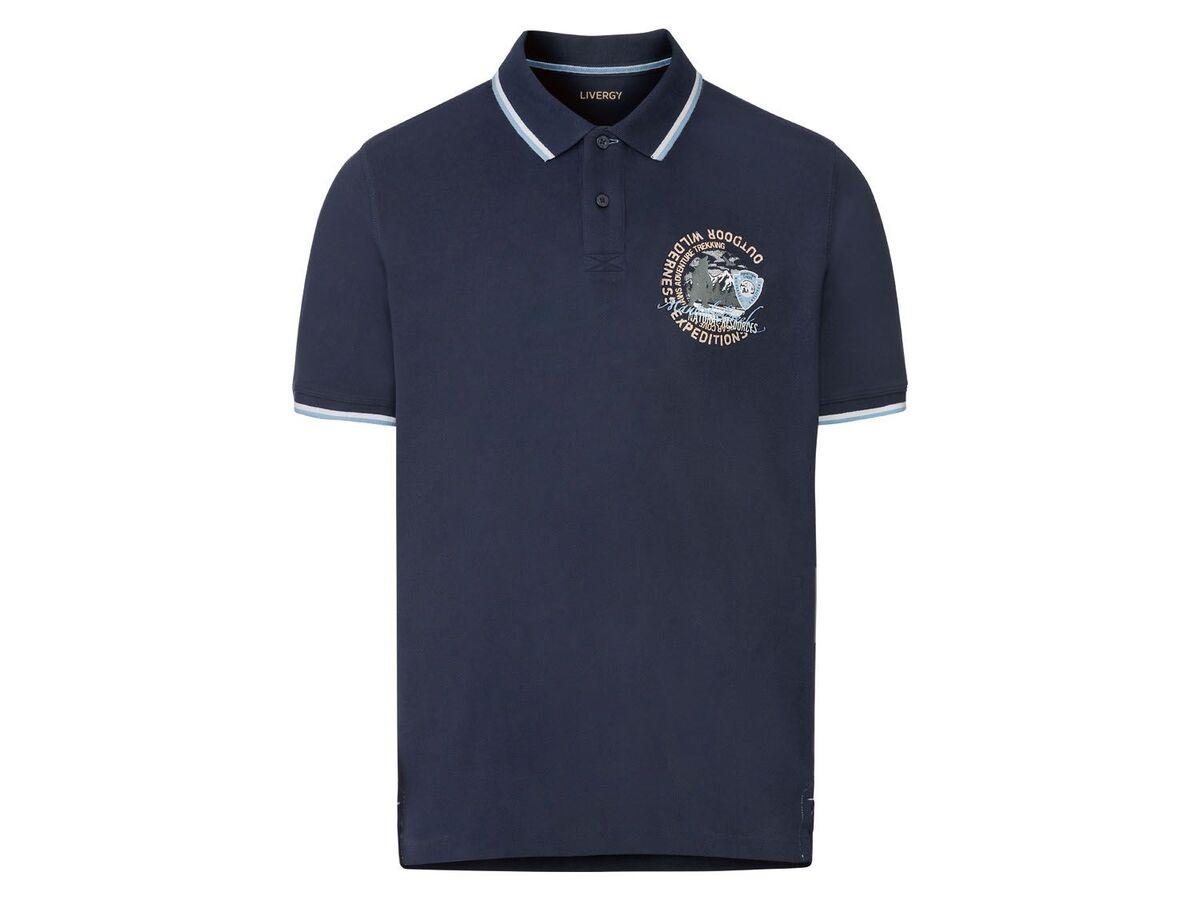 Bild 2 von LIVERGY® Piquee Poloshirt Herren, kurzarm, mit Baumwolle