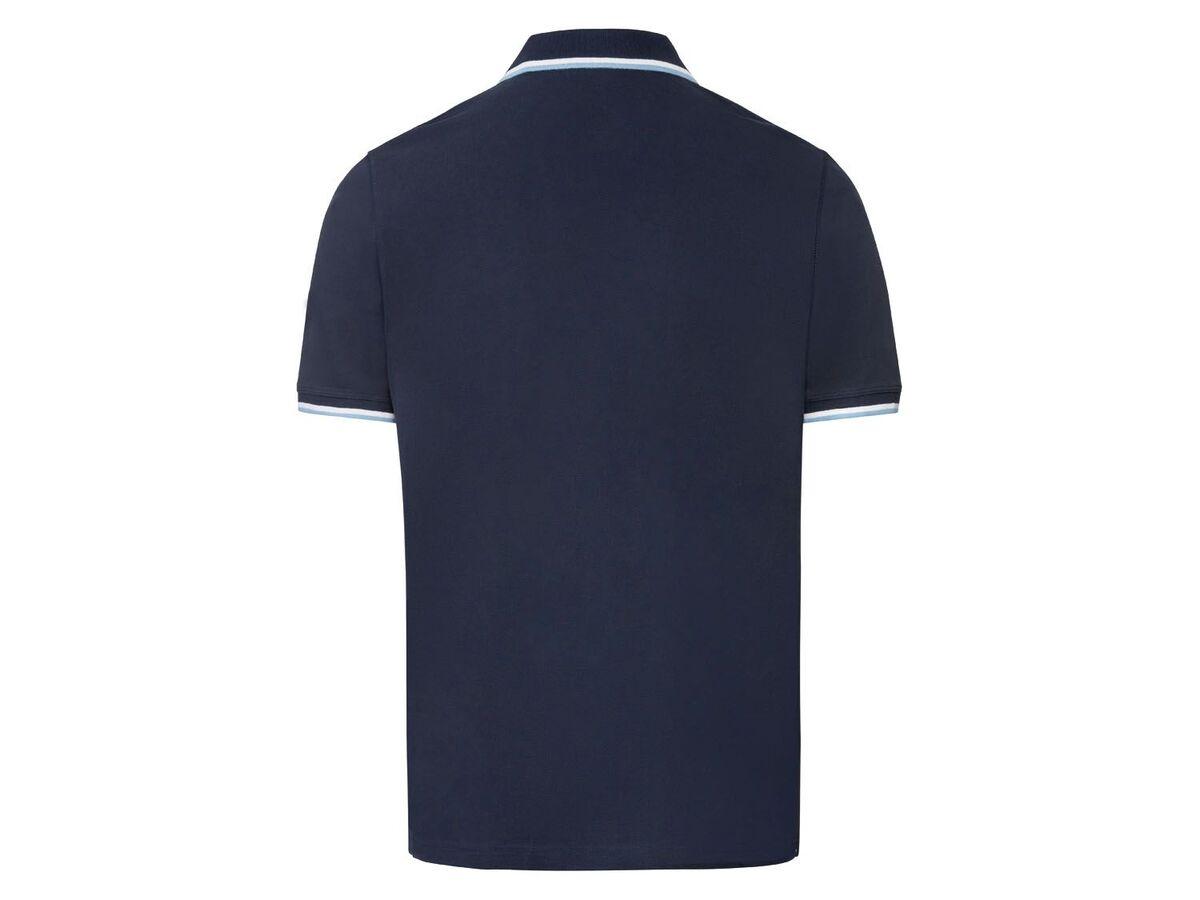 Bild 4 von LIVERGY® Piquee Poloshirt Herren, kurzarm, mit Baumwolle