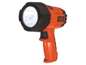 Black & Decker LED Taschenlampe, 3 Watt, 375 Lumen