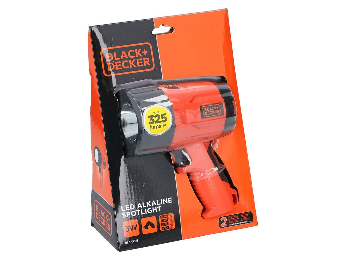 Bild 2 von Black & Decker LED Taschenlampe, 3 Watt, 375 Lumen
