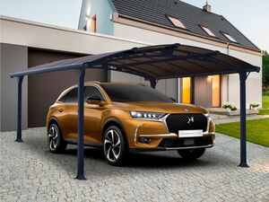 Palram Carport »Arcadia«, anthrazit, Aluminiumgestell, mit Polycabonat-Dach, UV-beständig