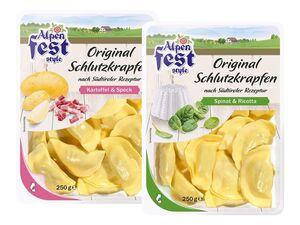 Alpenfest Original Schlutzkrapfen
