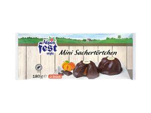 Alpenfest Mini-Sachertörtchen