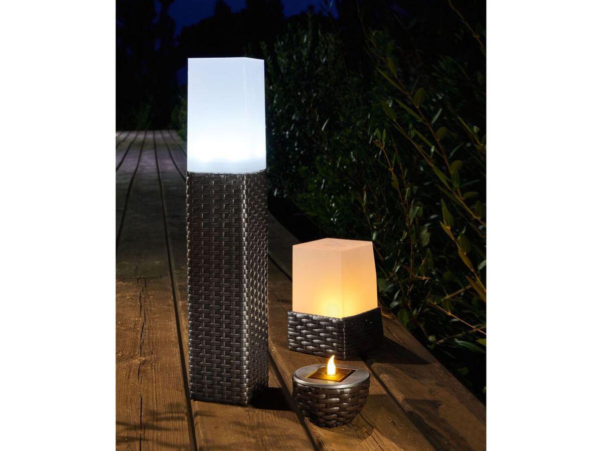 Bild 3 von LIVARNO LUX® Solarleuchte, in Rattan-Optik, mit 4 LEDs