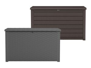Keter Kissenbox, Nutzinhalt ca. 870 Liter, Wetter- und UV-beständig