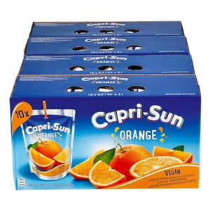 Capri Sun Orange 10 x 0,2 Liter, 4er Pack