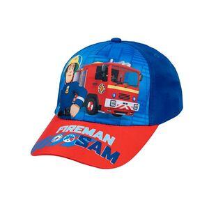 Kinder Lizenz Cap - Feuerwehrmann Sam - Größe 52cm
