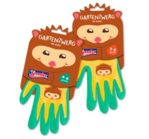 SPONTEX Kinder-Gartenhandschuhe Gartenzwerg