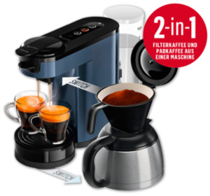PHILIPS Senseo Switch 2-in-1-Kaffeemaschine HD7891/70
