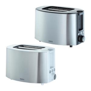 QUIGG     Design-Doppelschlitz-Toaster THT-8018