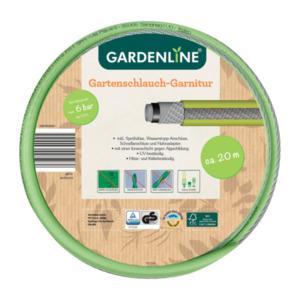 GARDENLINE     Gartenschlauch-Garnitur