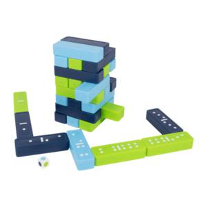 PLAYLAND     Dominospiel und Wackelturm