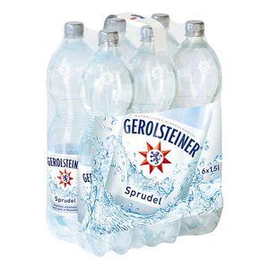 Gerolsteiner Mineralwasser Sprudel 1,5 Liter, 6er Pack