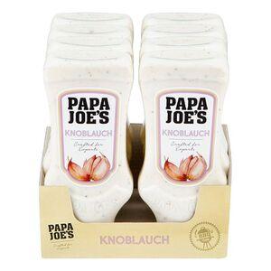 Papa Joes Knoblauch Sauce 300 ml, 8er Pack