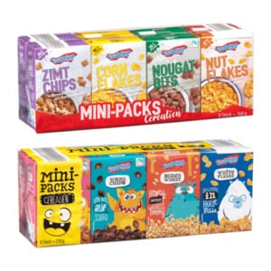 KNUSPERONE     Mini-Packs Cerealien