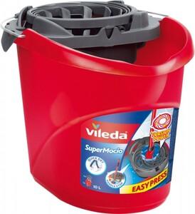 Vileda Wischmopeimer für Supermocio ,  mit PowerPress 10 L