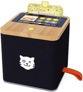 Tigermedia Tigerbox schwarz ,  Touchdisplay, Nachtlicht