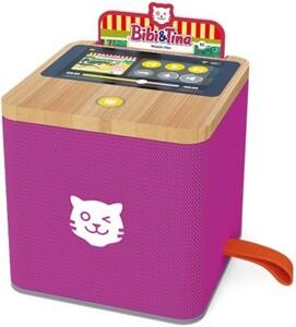 Tigermedia Tigerbox lila ,  Touchdisplay, Nachtlicht