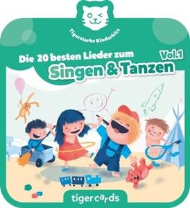 Tigermedia Tigercard Lieder zum Singen & Tanzen ,  Die 20 besten